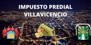 IMPUESTO PREDIAL VILLAVICENCIO