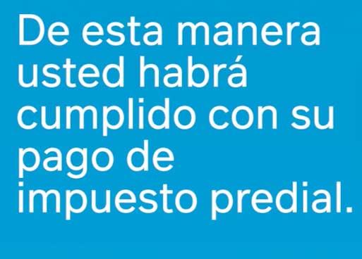 Finalizacion Pago Predial Cajica
