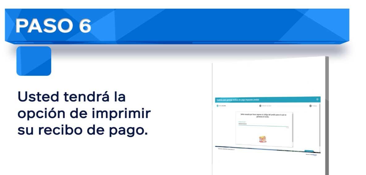 Impuesto Predial Cajica Paso 6
