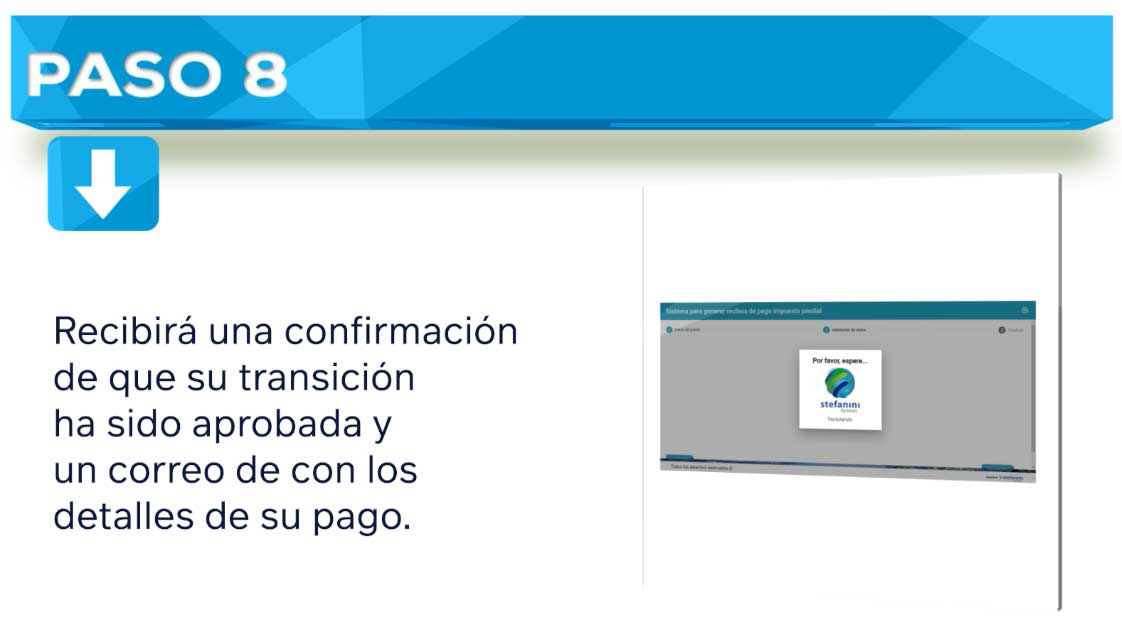Impuesto Predial Cajica Paso 8